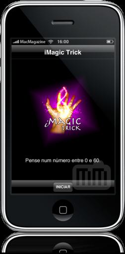 iMagic Trick 1.4 no iPhone