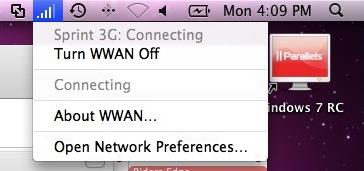 Modem 3G no Snow Leopard