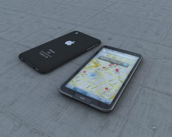 Proposta de iPhone criada pelo designer Dennis