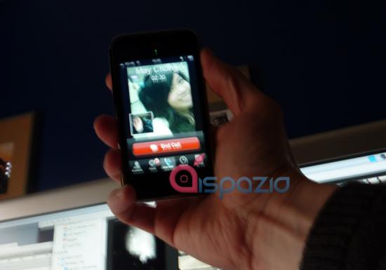 iPhone Video - chama de vídeo