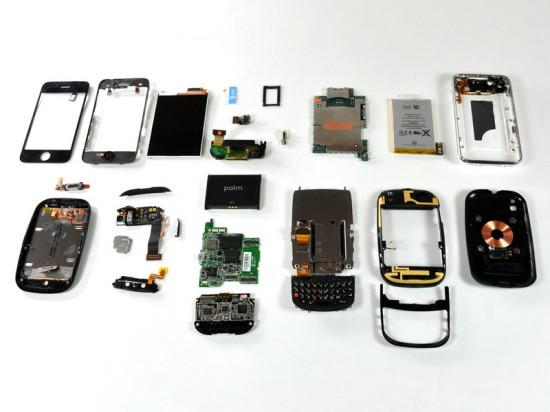 iFixIt - Palm Pre e iPhone 3G