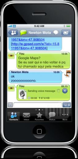 IM+ 3.0 - chat