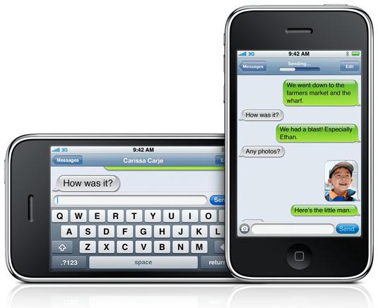 iPhone 3G S - MMS