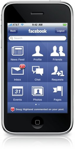 Facebook for iPhone 3.0