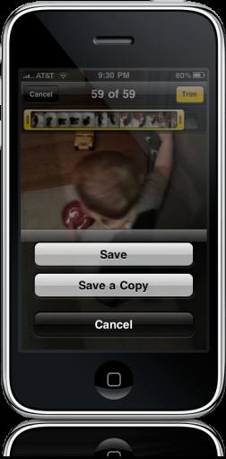 iPhone OS 3.1 - Vídeo