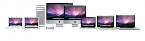 Família de Macs
