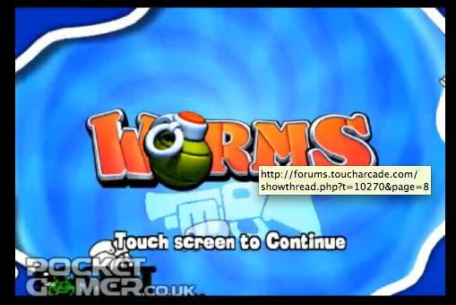 Worms para iPhone
