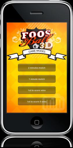 Foosball3DBR 1.2 no iPhone