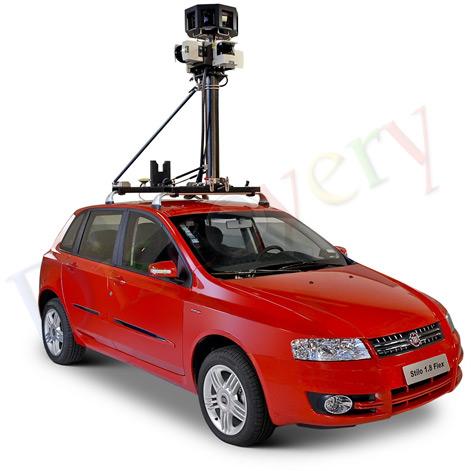 Fiat Stilo para o Google Street View