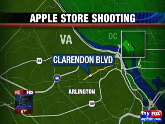 Tiroteio em Apple Store