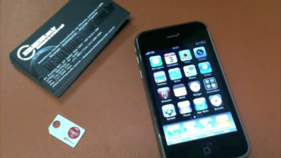 iPhone 3GS no DesbloqueioBr
