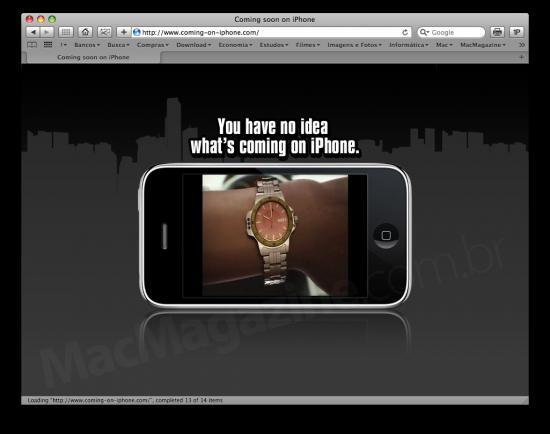 Teaser de GTA para iPhone?!