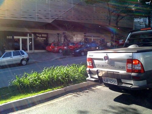 Carros do Google Street View estacionados