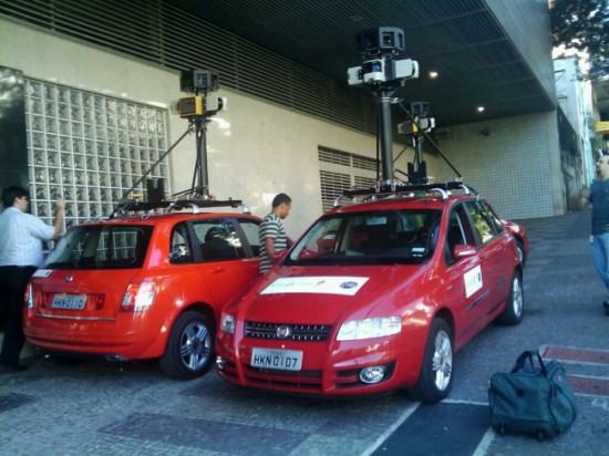 Carros do Google Street View em BH