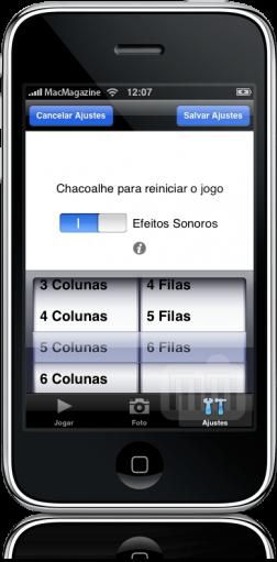 15 Peças no iPhone