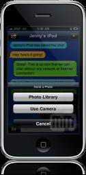Bluchat no iPhone