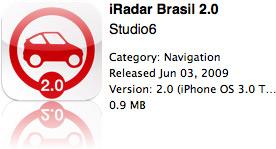 iRadar Brasil na App Store