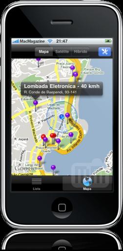 iRadar Brasil 2.0 no iPhone