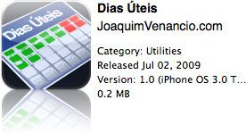 Dias Úteis na App Store