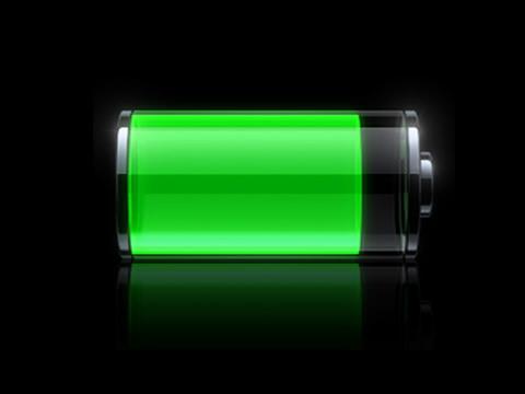 Bateria verde do iPhone