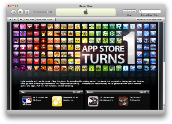 Aniversário da App Store