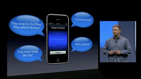 Voice Control na WWDC 09