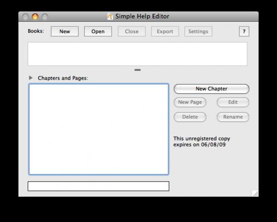 Simple Help Editor