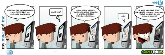 My Mac And Me - Moonwalk the Comic Strip