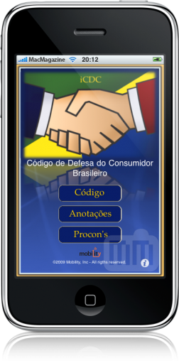 iCDC no iPhone