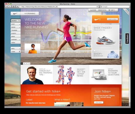 Site Nike Running