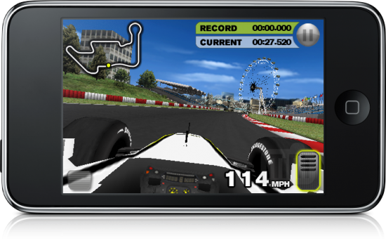 Brawn GP Racing no iPhone