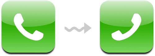 Ícone de telefone do iPhone
