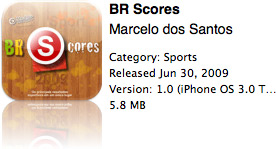 BR Scores na App Store