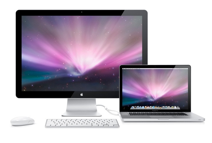 MacBook Pro e LED Cinema Display