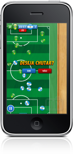 Mobits Button Soccer no iPhone