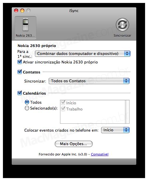 Nokia e iSync