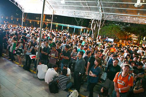 Lançamento do iPhone 3GS na Singapura
