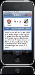 Brasileirão 2009 Live no iPhone