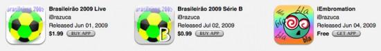 Apps da iPhone Brazuca