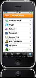 Nimbuzz no iPhone