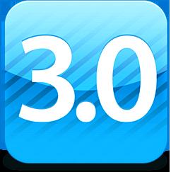 Ícone do iPhone OS 3.0