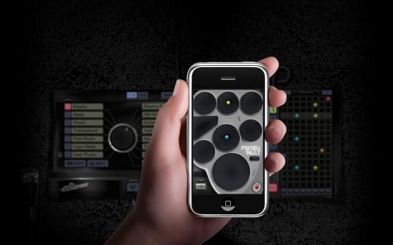 FingerBeat para iPhone