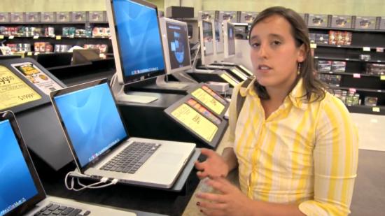 Sheila, do Laptop Hunters da Microsoft