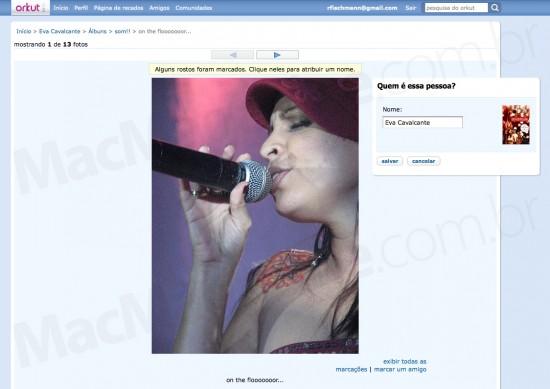 Identificação facial no Orkut