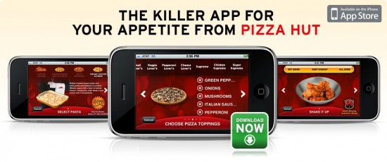 Pizza Hut no iPhone