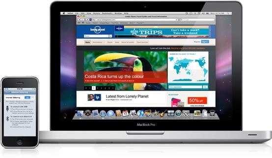 MacBook e iPhone