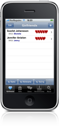 Amazing Girlfriend Manager no iPhone