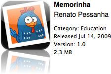 Memorinha na App Store