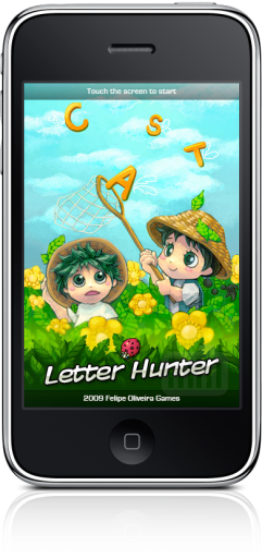 Letter Hunter no iPhone