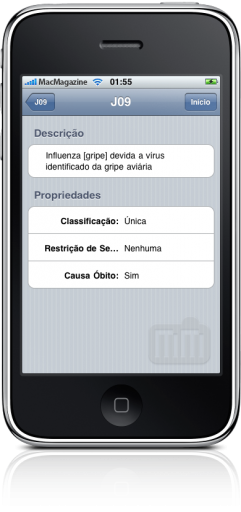 MobileCare Tools no iPhone